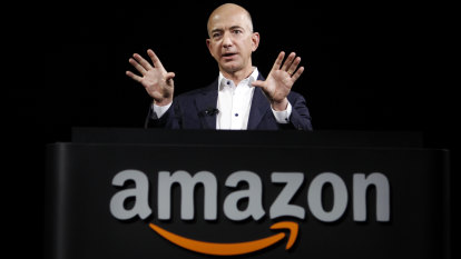 Amazon posts biggest-ever profit as pandemic savages economy