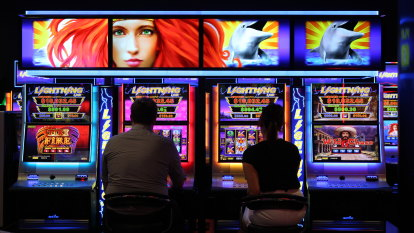 Poker machines used to launder cash and avoid tax