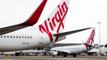 Virgin will only fly one return service between Sydney and Melbourne a day.