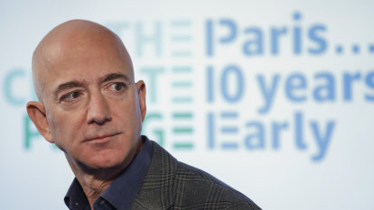 Jeff Bezos and Amazon under pressure to deliver more than hot air