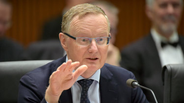 Philip Lowe, governor of the Reserve Bank of Australia (RBA).
