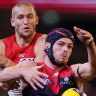 Hurting Goodwin slams 'unacceptable' loss to Swans