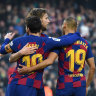 New signing vows to not wash Barca shirt after Messi embrace