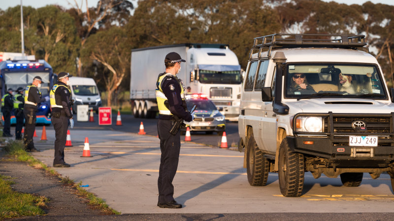 Victoria Police confirm 170 staff in self-isolation following close contact with COVID-19 – The Age