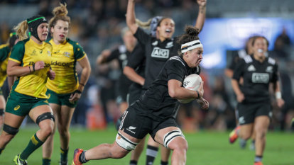 Wallaroos on the wrong side of another Black Ferns bloodbath