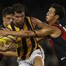 Hawthorn could play Essendon in Tasmania if MCG stays empty