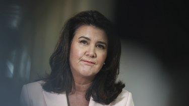 Superannuation Minister Jane Hume.