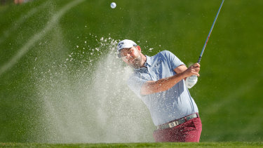 Marc Leishman is chasing his first major.