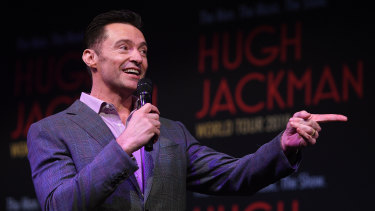 Hugh Jackman is back in Australia for his The Man. The Music. The Show.  tour.