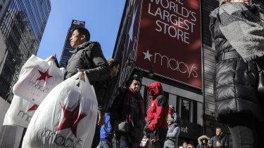 Macy's had another disappointing holiday season.