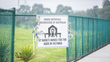 St. Basil's Homes for the Aged in Fawkner.