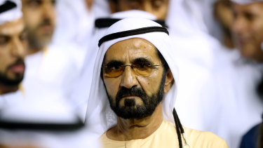Sheikh Mohammed bin Rashid Al Maktoum, ruler of Dubai and UAE Prime Minister, is counting on vaccines to recharge the economy.