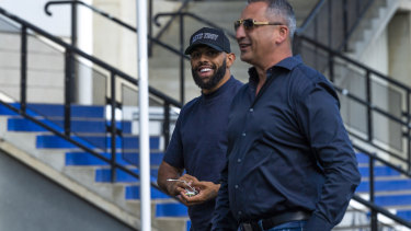 Storm winger Josh Addo-Carr was spotted in a secret meeting at Belmore last month.
