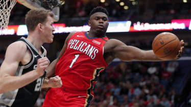 Zion Williamson enjoyed a huge NBA debut for the Pelicans.