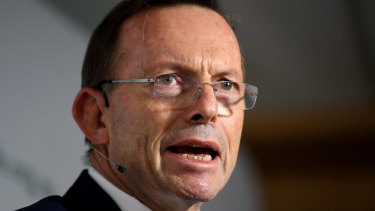 Tony Abbott was forced to stare down a protest vote