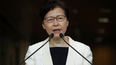 Hong Kong's leader Carrie Lam has withdrawn a controversial extradition bill after weeks of protest.