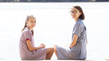 Lily, left, is starting high school next year and wants to go to local Menai High.
