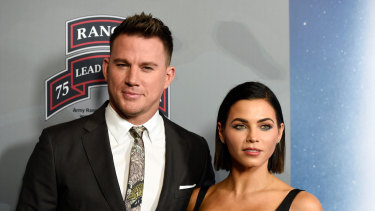 Channing Tatum and Jenna Dewan favoured the joint statement approach when they split.