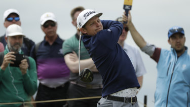 Cameron Smith is looking to build on his British Open top-20 finish.