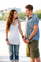 Cyrus and Hemsworth in 2010's The Last Song.