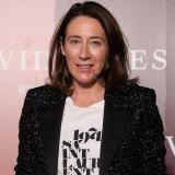 Vogue editor Edwina McCann.