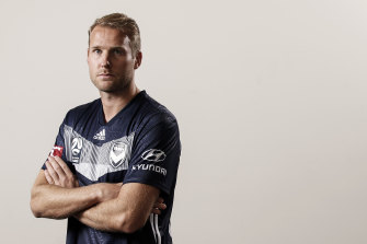 Ola Toivonen is the new captain of Melbourne Victory.