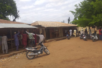 Students were abducted from this school in Tegina, Nigeria, last month. Sunday's abduction was the 10th mass school kidnapping since December.