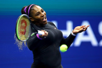 Serena Williams is through to the US Open women's final.