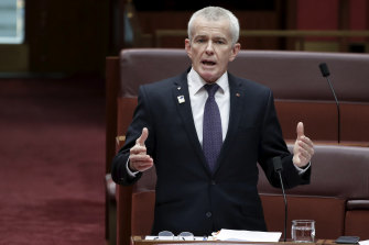 One Nation senator Malcolm Roberts has pushed Simon Turner's case in Parliament.