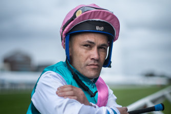 Jockey Michael Walker will ride favourite Finche in Saturday's Caulfield Cup.