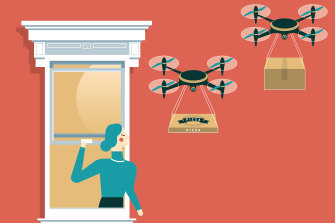 Drones could soon be delivering your everyday desires right to your door – or window.