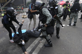 Protesters have demanded an independent inquiry into police behaviour during the protests.