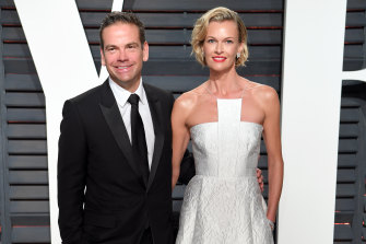 Lachlan and Sarah Murdoch slipped back into Australia in March.