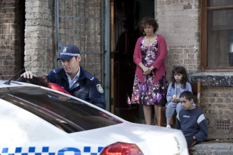 Leah Purcell in the ABC series <i>Redfern Now</i>.