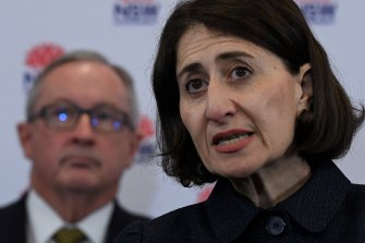 Permissive parenting style: NSW Premier Gladys Berejiklian and Health Minister Brad Hazzard.
