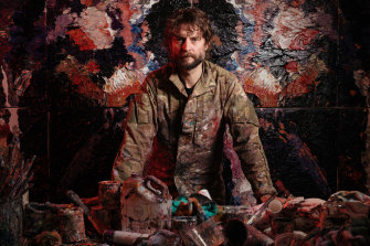 Australian painter Ben Quilty.