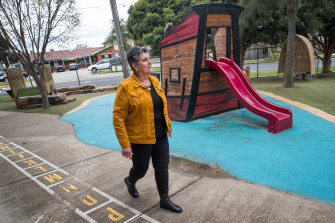 Loretta Piazza, principal of Meadowglen Primary School.