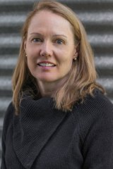 Author Joy Rhoades.
