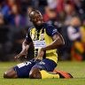 Mariners bullish on marquee signing after Usain does the bolt