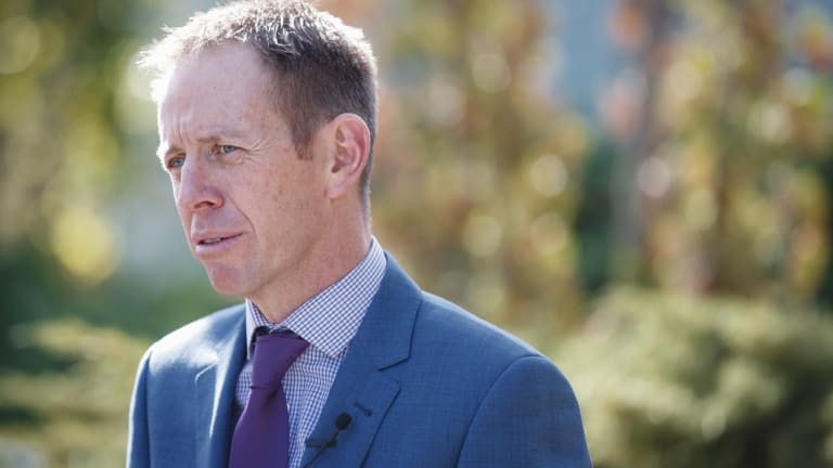 Minister for Mental Health Shane Rattenbury.