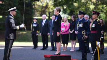 Justice Margaret Beazley was sworn in as Governor of NSW at a ceremony at Government House in Sydney on Thursday.