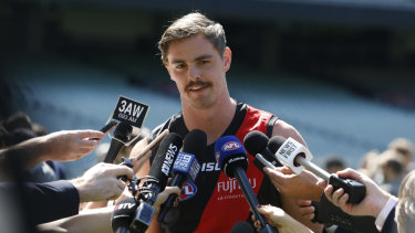 Essendon forward Joe Daniher is out with a calf injury.