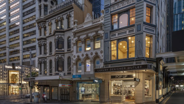 Private developer Sam Arnaout is selling the heritage asset at 106 King Street, Sydney