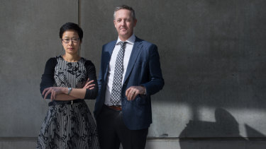 Dr Jean Lee and Professor Ben Howden of The Peter Doherty Institute for Infection and Immunity.