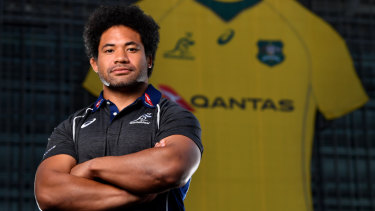 Head space: Tatafu Polota-Nau is relieved to have concussion back on the agenda in Australian sport.