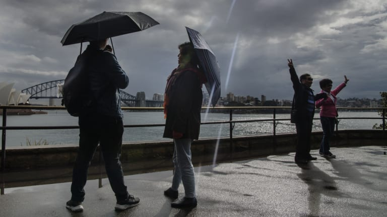 Sydney may collect its best rainfall for several months by the end of the week.