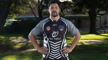 Former Samoan international Willie Peace has the honour of leading the Yass Magpies in their centenary season.