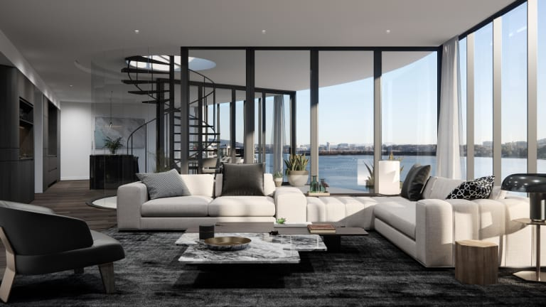 The Sapphire development would see 79 apartments of two-, three- and four-bedroom along with six penthouses