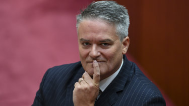 Finance Minister Mathias Cormann says the internal processes of the travel company were unknown to him.