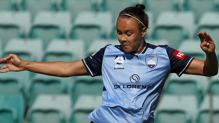 Caitlin Foord will miss the W-League grand final.